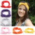 Lovely Elastic Stretch Plain Rabbit Bow Knot Hairbands Hair Grips Headband Head Bands Turban Headwear Hair Accessories For Woman