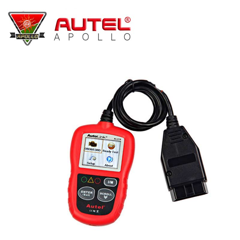 [AUTEL Distributor]Auto Diagnostic Scan Autel AutoLink AL319 OBD II & CAN Code Reader Auto Link AL-319 Update Official Website(China (Mainland))