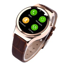 10pcs/set New Arrival Bluetooth 4.0 Smart watch T3 Support SIM SD Card SMS Leather Smart bracelet For IOS Apple&Android Phone