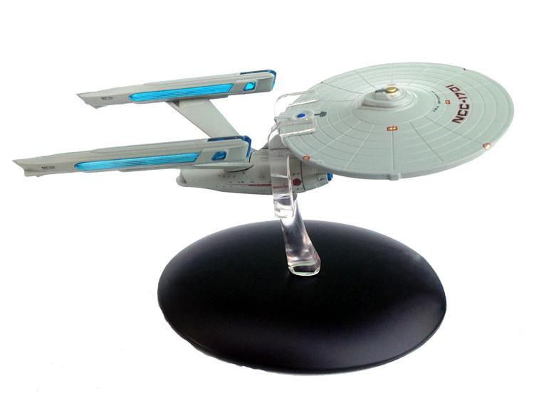 Free Shipping Star Trek Mini Spaceship metal Model Toy #2 Starship Enterprise(China (Mainland))
