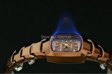 KSD famous brand Tungsten steel watches women Dress watches quartz watch 100m diving watch Rhinestone diamond