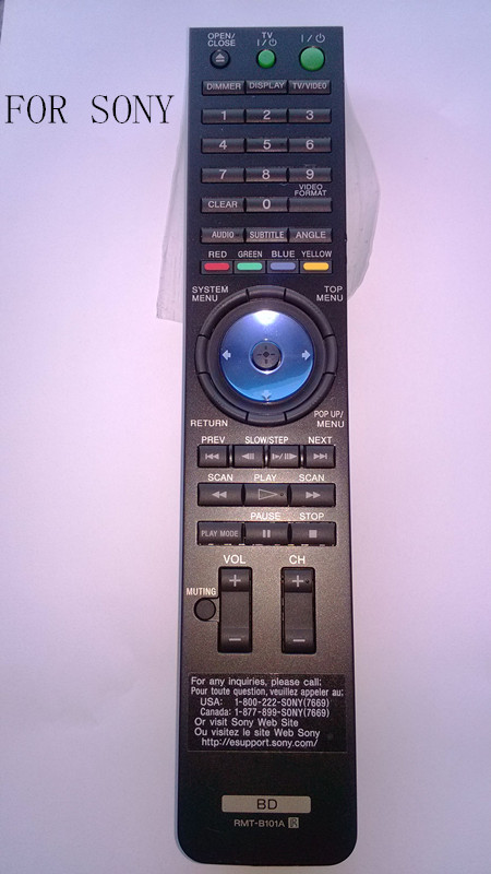 RMT-B101A BD Remote control FOR Sony BDP-S300 BDP-S301 Blu-ray DVD Player(China (Mainland))