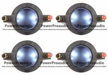4pcs Replacement Mackie DC10/1801-8 Tweeter Diaphragm for SRM450v2 P-Audio Speaker
