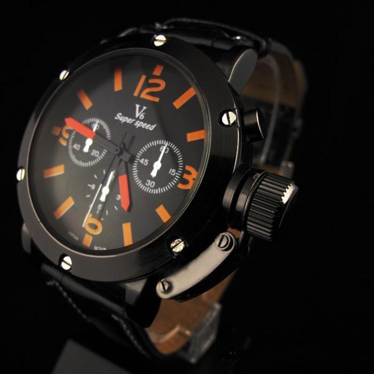 Fashion Brand Men Quartz Watches Men Leather Strap Vogue Watch Men Military Wristwatch Male Clock Relogio Masculino<br><br>Aliexpress