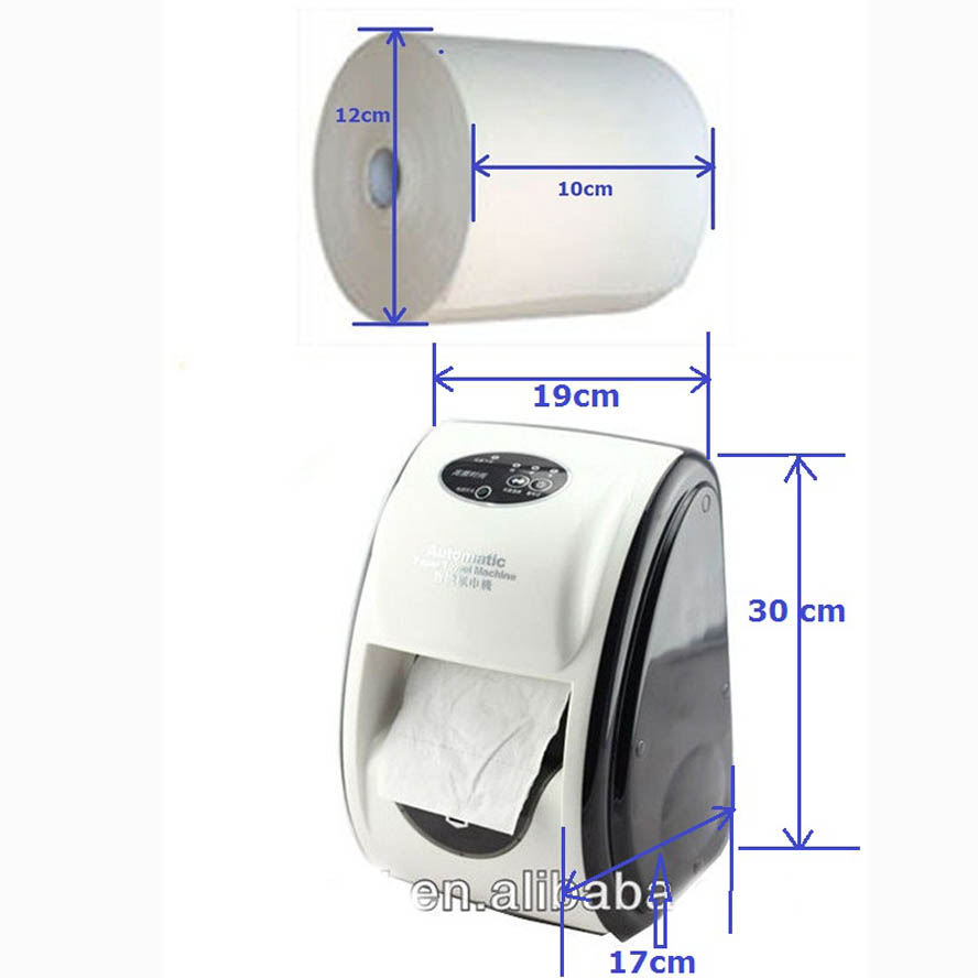 Online buy wholesale automatic tissue dispenser from china for Automatic paper towel