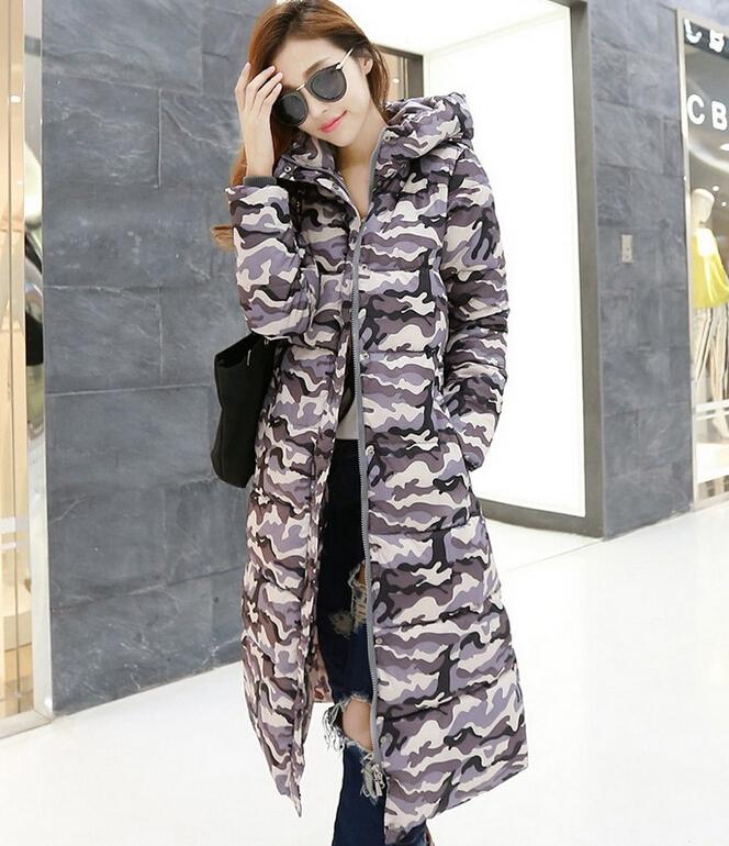 12 Color L-XXXL Winter jacket women Winter Coat Women down coat Plus size Women Cotton Padding Jacket Women X-long Parkas