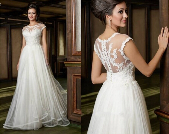 Popular plus size gothic wedding gowns aliexpress for Plus size gothic wedding dress