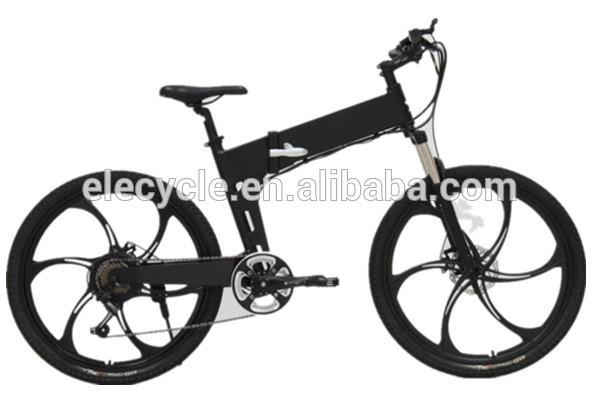 ELECYCLE Eb13 4 350W 36V foldable folding Mountain Electric Bike Electric Bicycle e bike chinese jiangmen