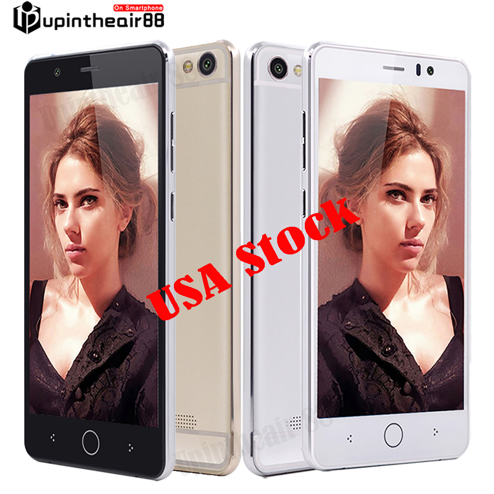 USA Stock 5 inches Smartphone Android 4.4.2 Dual Core MTK6572 Unclocked Phone 512MB RAM+4GB ROM WCDMA 5MP 3000mAh AT&T T-mobile