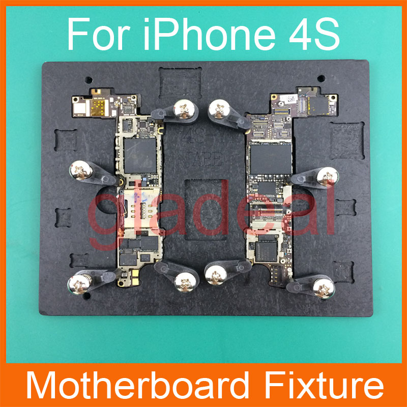 High Temperature Resistant Motherboard PCB Fixture Holder For iPhone 4S IC Maintenance Repair Mold Tool Platform(China (Mainland))