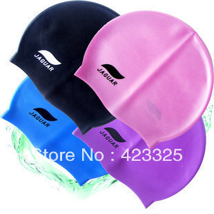 Genuine JieJia soft silicone swimming cap swimming cap silicone cap universal adult children can be wholesale