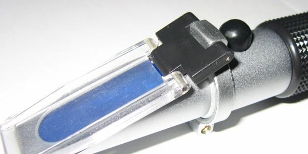 Handheld Warming emulsion concentration meter of emulsion oil dedicated refractometer refractometer