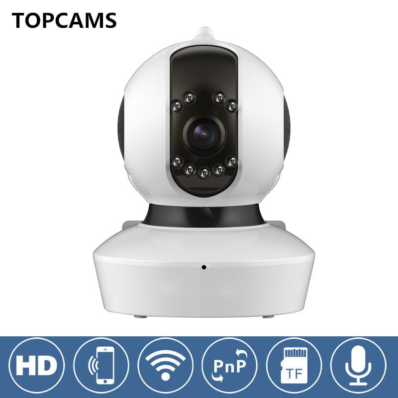 Фотография OEM C7823WIP Onvif 720P HD Wireless Security CCTV WIFI IP Camera And Support 64G SD Card Slot and IR Cut email alarm