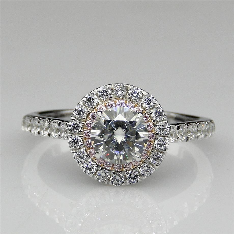 online kaufen gro handel verlobungsring rosa diamant aus. Black Bedroom Furniture Sets. Home Design Ideas