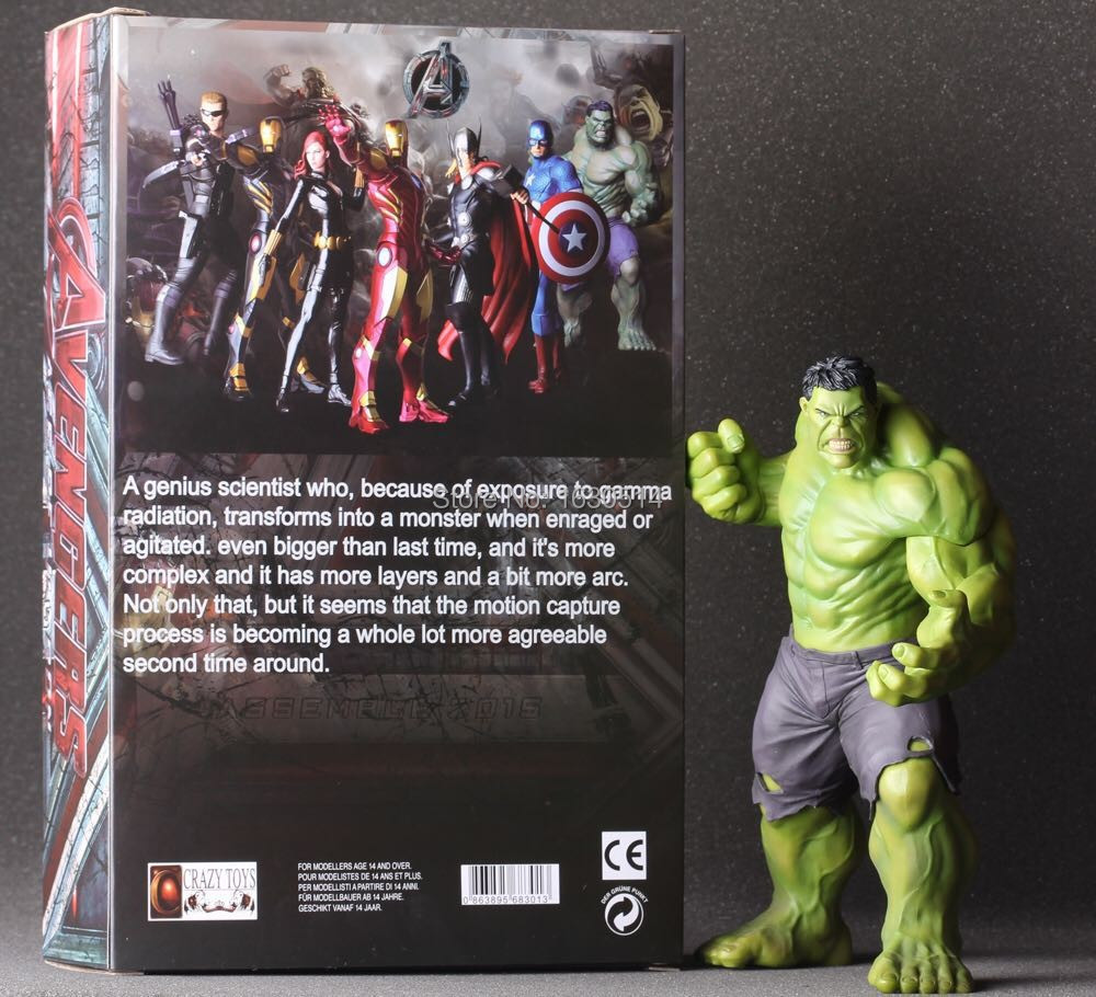 Free Shipping 24CM The Avengers Hulk 1pcs,the baseluminous Doll Car Home Interior PVC Action Figure Model Collection Toy Gift(China (Mainland))
