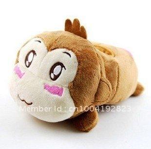 J3 J3 Cute! Lovely hip-hop monkey plush mobile phone holder Free Shipping