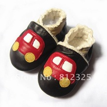 factory sale cute soft sole leather baby boots kids shoes(China (Mainland))