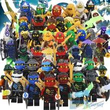 SY272 SY282 SY285 ninja Minifigures Cole Kai Jay Lloyd Nya Skylor Zane Pythor Chen Building Blocks MiniFigures(China (Mainland))
