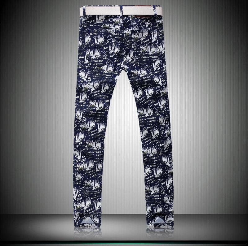 Скидки на Новые продукты мужская Супер мягкий Досуг Большой размер тенденции моды брюки мужские джинсовые комбинезоны мужчин pantalones hombre вакеро G229