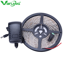 Buy Waterproof LED Strip 300leds/5M 3528 SMD LED Strip Light IP65 Flexible Ribbon Tape 12V 2A Power Adapter Supply for $8.49 in AliExpress store