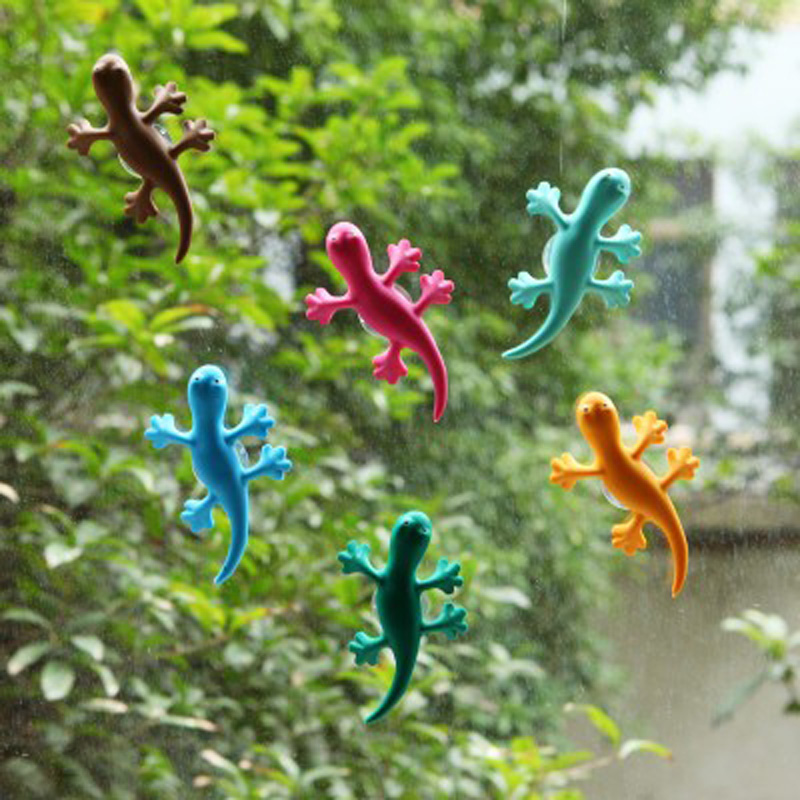 2Pcs/1Set Lovely and Cute Gecko Car Air Cleaner Car Perfume Car-styling Natural and Non-Toxic Car Air Freshener(China (Mainland))