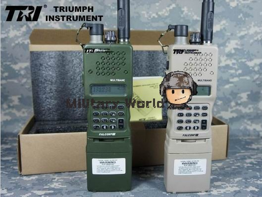 TRI PRC-152(UV)Tactical Radio Interphone Walkie Talkie Military Radio Multiband Inter/Intra Team Radio (IPS ) ( IPX-7 ) Green
