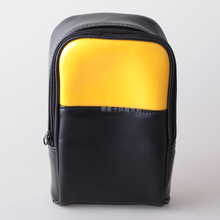 leather Soft Carrying Bag for Instrument Storage, fluke 15B+ 17B+ 18B+ 115C 116C 117C or other multimeter 22x15x8 cm(China (Mainland))