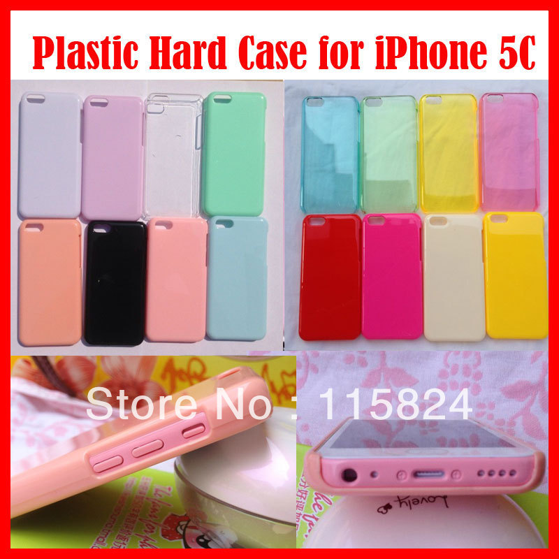 Clear Ultra Thin Slim Snap-On Plastic Hard Skin Phone Crystal Case iPhone 5C Transparent 20 - sunny jiang's store