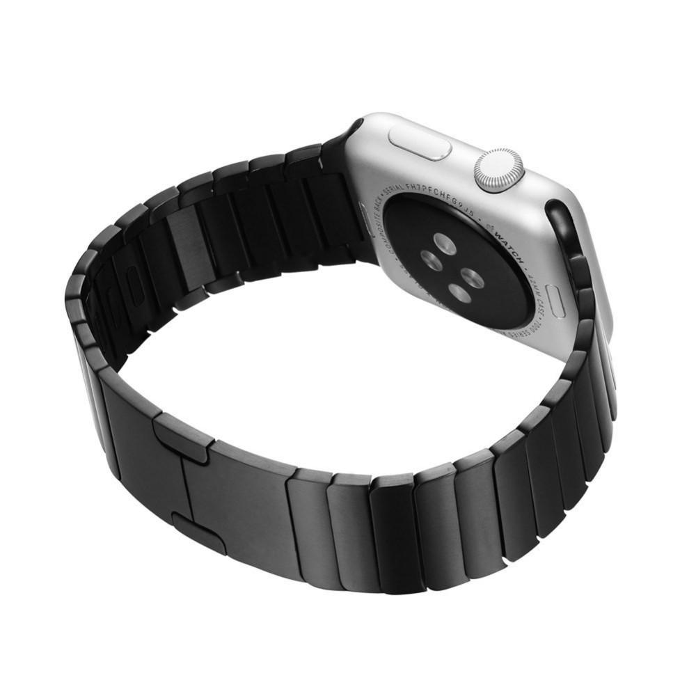 Для Apple Watch Премиум Нержавеющей Стали 316L iWatch Съемный Ремешок Ремешок невидимый Застежка С Разъем Адаптера 38 мм 42 мм Ремешок