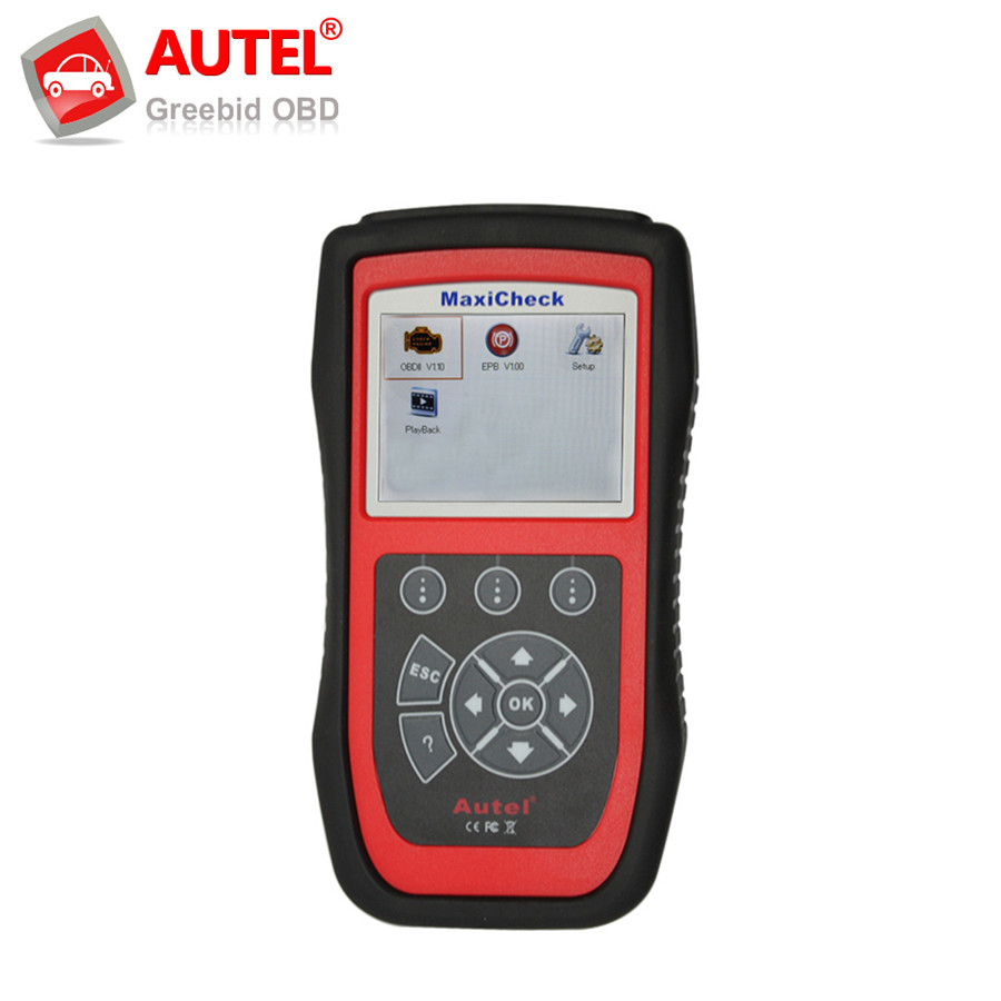 Original Autel MaxiCheck-EPB Brake Pads Replacement And Recalibration Clears EPB/SBC Trouble Codes User Friendly MaxiCheck EPB(Hong Kong)