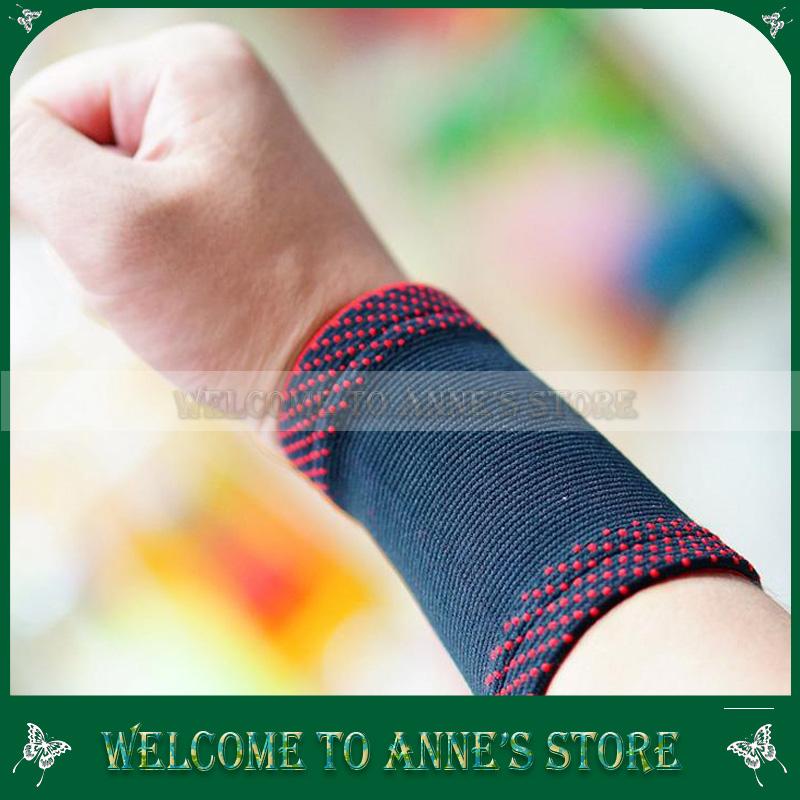 Sport Protect Custom Basketball Wrist Support Helpful Wristband Knitting Hand Wraps 10pcs/lot wholesales(China (Mainland))