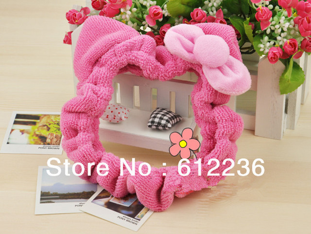 hello kitty Japan and South Korea lovely wash hair bands face pulling super beautiful elastic headband wash beauty salon