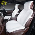 2015For 2 Front car seat covers faux fur cute car interior accessories cushion cover styling winter