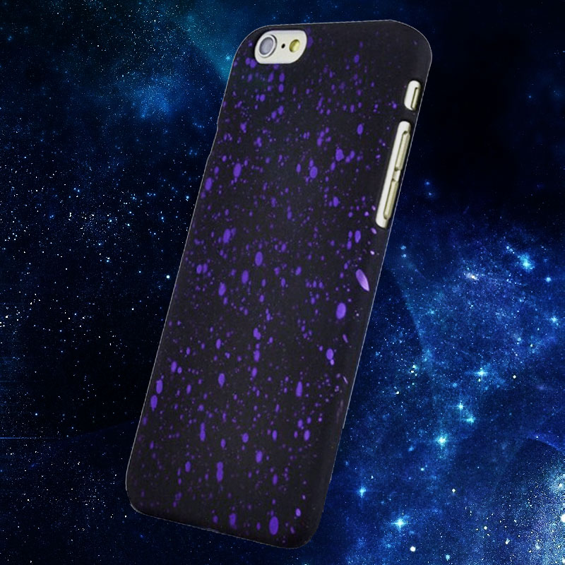 Funda for iPhone 6 Plus 6S Plus Coque Pulse 3D Hologram Galaxy Painting Slim Case Skin Cover I6 Phone Carrying Case Starry Sky(China (Mainland))