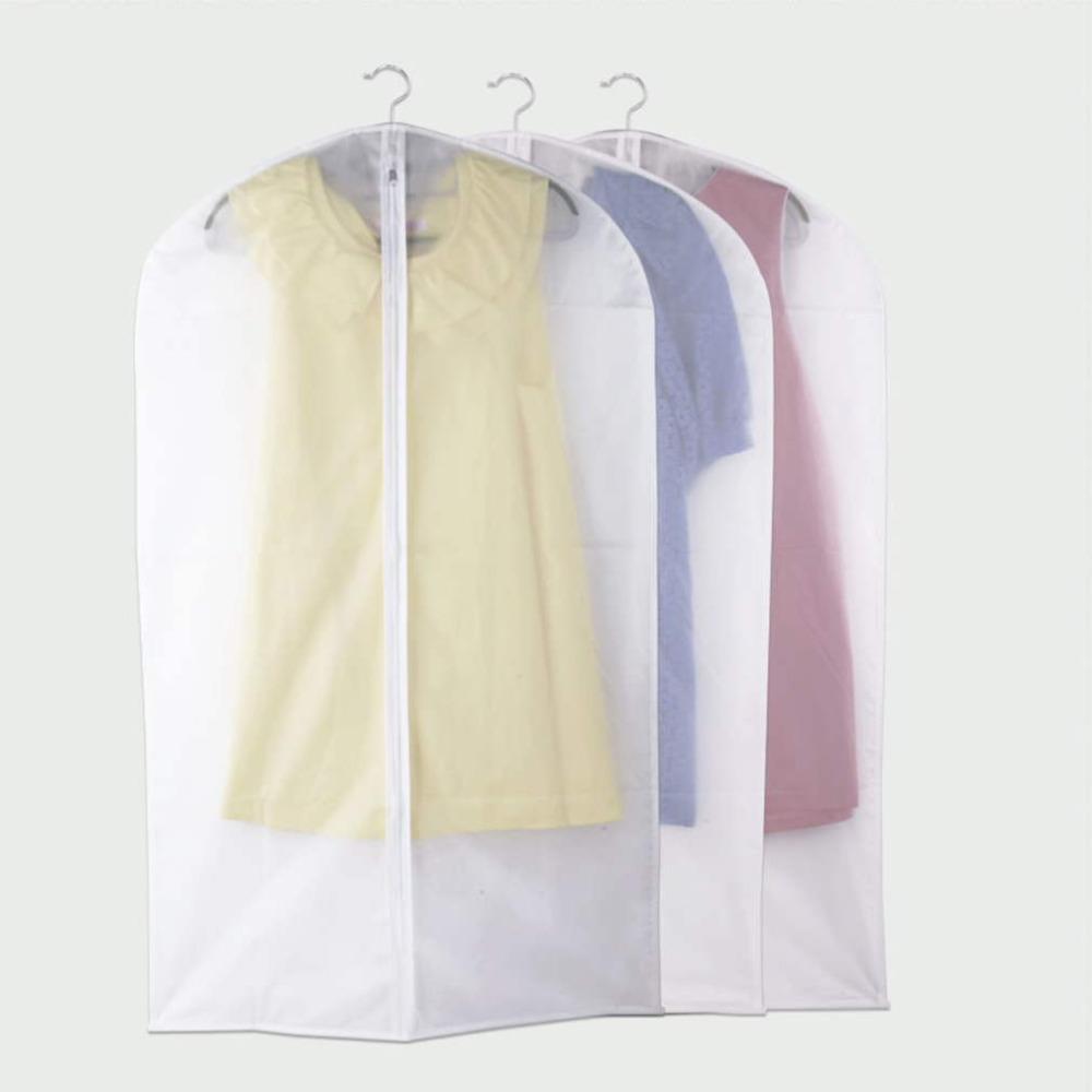 1Pcs Large Size Coat Dustproof Cover Garment Suit Dress Jacket Clothes Protector Travel Bag Wholesale(China (Mainland))