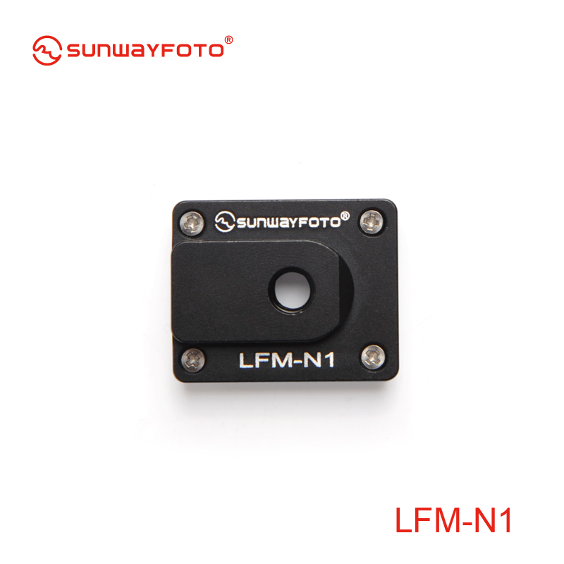 SUNWAYFOTO LFM-N1 Tripod Quick Release Plate Telephoto Lens Support Foot mount plate for Nikon 70-200mm f/2.8(China (Mainland))