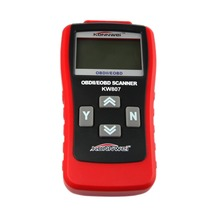 Universal OBD V2.1 KW807 OBD2 Car Diagnostic Scanner OBDII Tester Diagnostic Tool for Android Windows Symbian(China (Mainland))