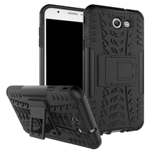 Buy For Samsung Galaxy J7 2017 J727 PC + Silicone 3D Dual Layer Anti Shock Impact Rugged Armor Case For Samsung J 7 2017 Cover Case for $3.99 in AliExpress store