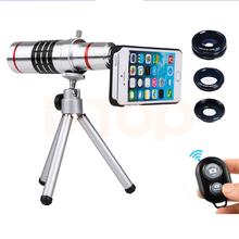 Buy 2017 Phone Lentes Kit 18x Zoom Telescope Telephoto Lenses iPhone 6 6s 7 Plus 5 5s 4 4s Samsung Fisheye Wide Angle Macro lens for $36.65 in AliExpress store