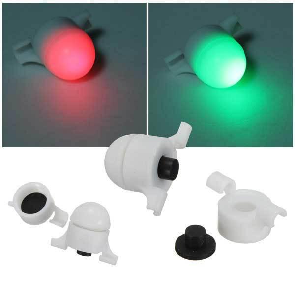 Flaxton Fishing LED Rod Tip Night Light Strike Alert Glow Stick Bite Alarm(China (Mainland))