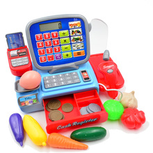 Arpa Supermarket Mini Shop Shopping Grocer Minimarket Till Register Cashier Simulation Furniture Checkout Pretend Play House Toy(China (Mainland))