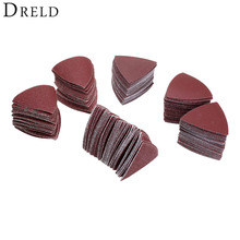 Buy 60Pcs Dremel Accessories 80mm Polishing Pad Sand Paper Sandpaper Wood Grinding Sanding Abrasive Tools Grit 40 60 80 120 180 240 for $8.99 in AliExpress store