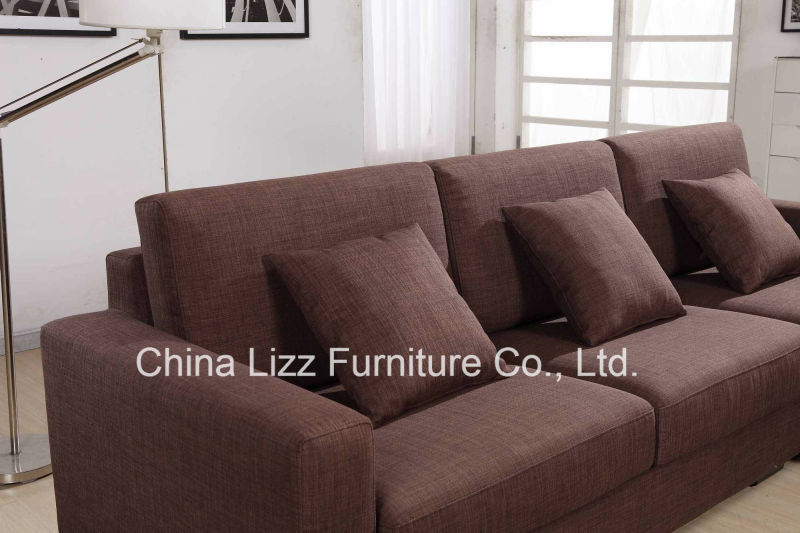 Modern Living Room Fabric Sofa each sofa hides a comfortable sleeper that can transform your living room into a guest room(China (Mainland))