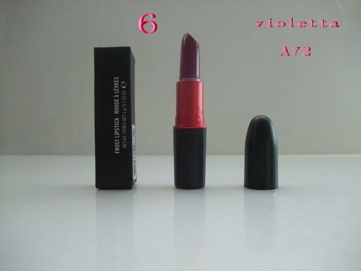 2015 New High Quality MC Brand Makeup Rich Colors Matte Lipstick Blue Lipstick 24 Colors Free shipping(1pcs/lot) A72(China (Mainland))