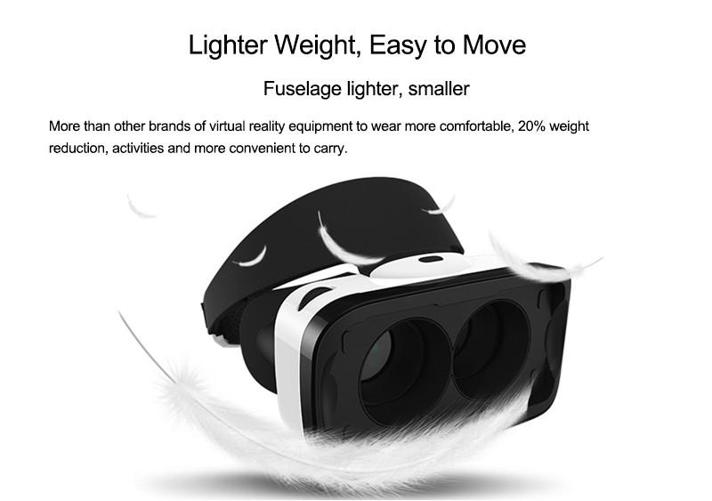 """ถูก B aofeng Mojing 4แว่นตา3Dสำหรับ4.7-5.5 """"มาร์ทโฟนFOV 96องศาป้องกันแสงสีฟ้าความจริงเสมือนVR Glasseswithแพคเกจของขวัญ"""