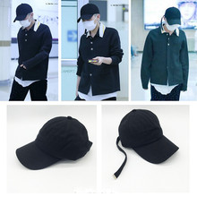 Youpop KPOP BIGBANG GD Album Hat 2016 K-POP New Fashion Design Classic Black Sport Baseball Cap Hip-hop XHM141 - YOUPOP store