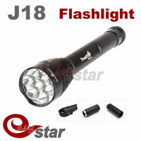 Trustfire J18 TR-J18 SUPER BRIGHT LED Flashlight,8000 LM, 7* CREE XML T6 High Power Torch For Camping Hiking