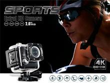 True 4K 24fps ULTRA 4K HD WiFi Action Camera 16MP sport camera M20 NOVATEK NT96660 IMX 117 sensor 2″ waterproof mini Action cam