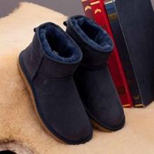 Venta al por mayor! China classic tall impermeable de piel de oveja de cuero genuino botas de nieve caliente zapatos para mujeres(China (Mainland))