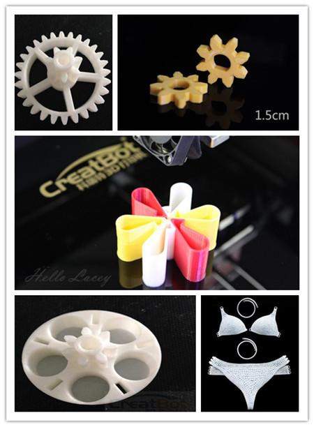 CreatBot upgrade extruder for DE PLUS printer 400 degrees high temperature nozzle CreatBot Original 3d printer Parts in China